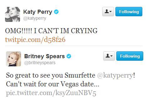 Katy Perry Britney Spears