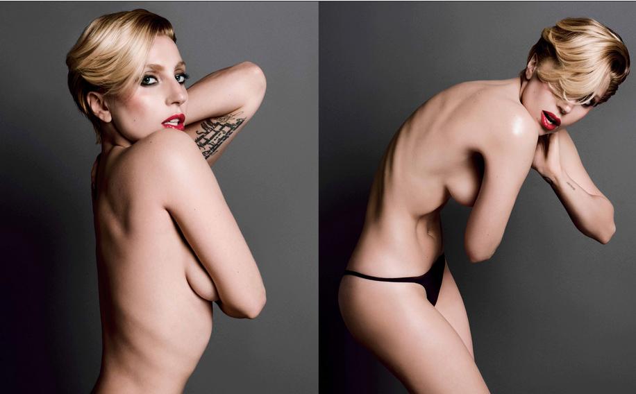 Gaga V Magazine