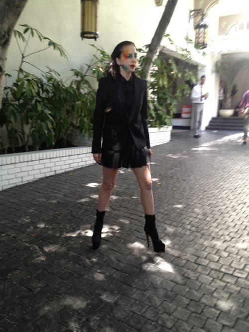 LAdy Gaga Applause Trucco 2