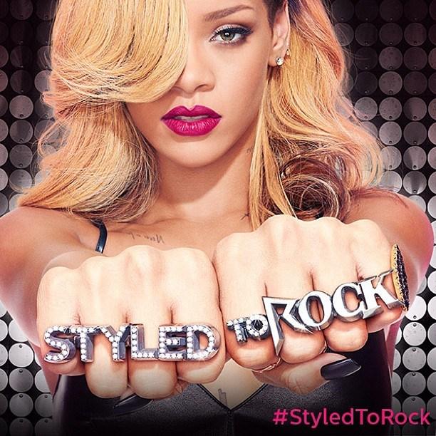 Rihanna Styled