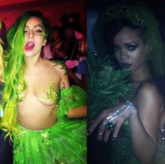 Lady Gaga Rihanna