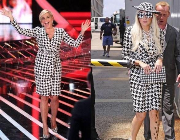 Simona Ventura Lady Gaga