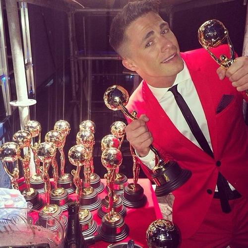 colton haynes world music awards 2014