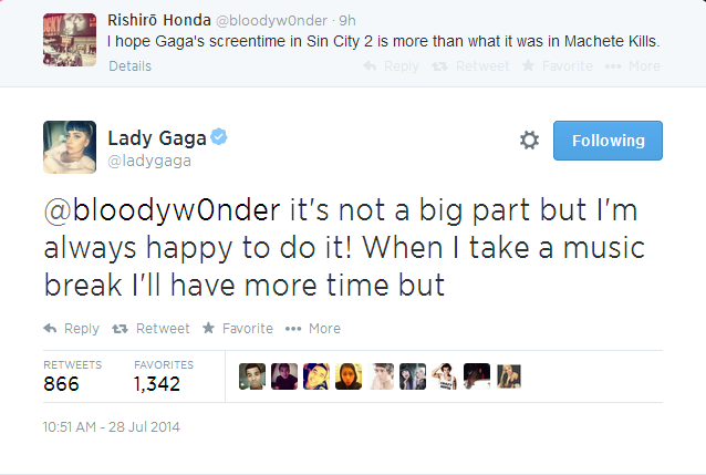 lady gaga sin city 2