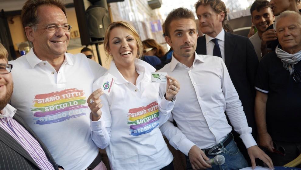 francesca pascale gay pride gay village berlusconi