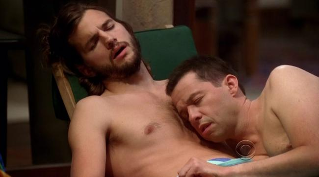 ashton and jon cryer naked