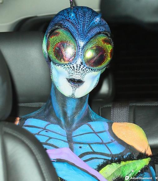 heidi klum party halloween 2014