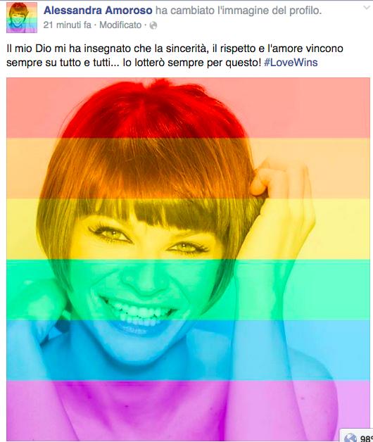 Alessandra Amoroso gay