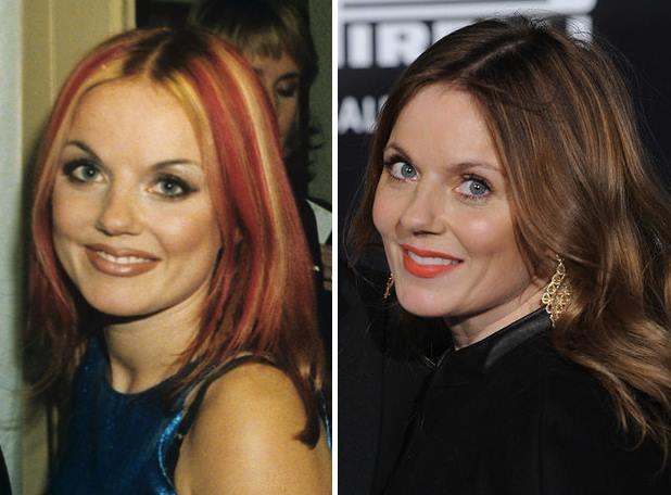 Spice Girls prima e dopo (1)
