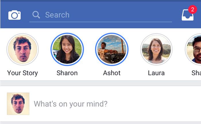 Facebook stories video