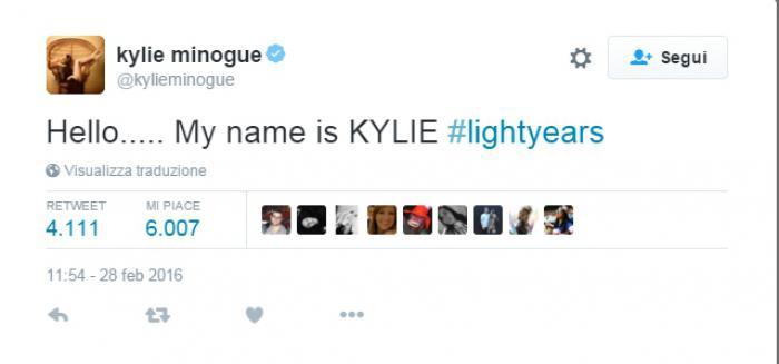 il-tweet-di-kylie-minogue