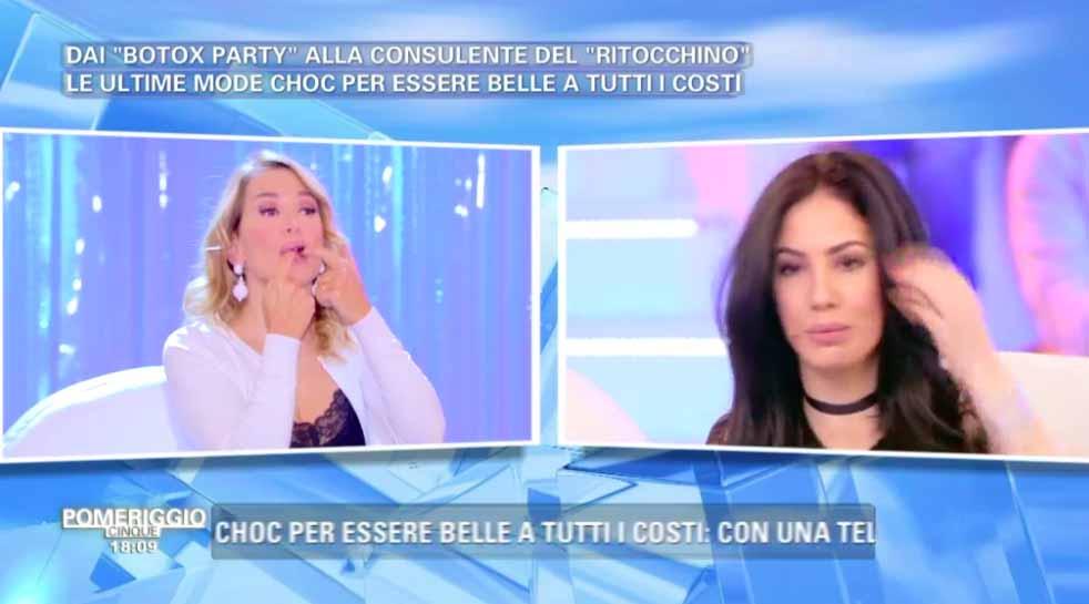 Giulia De Lellis e Barbara d'Urso