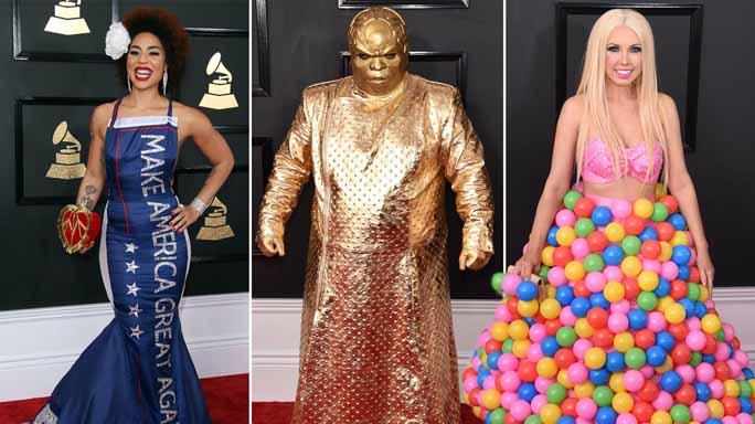 Grammy 2017 Worst Dressed