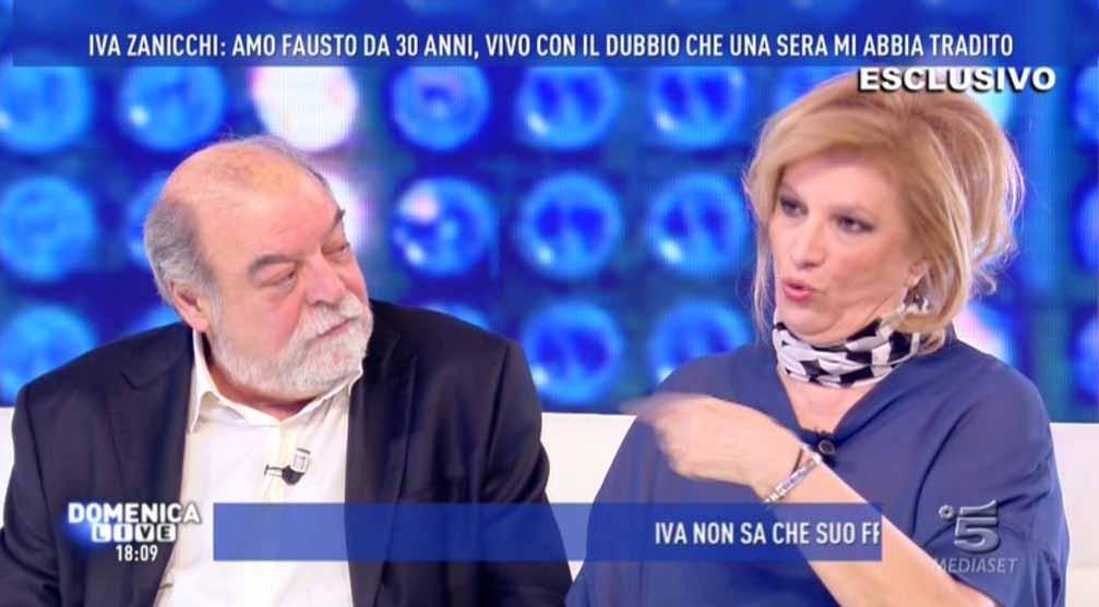 Iva Zanicchi Domenica Live