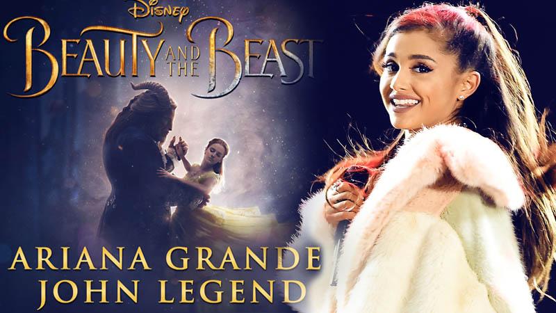 ariana grande beauty and the beast