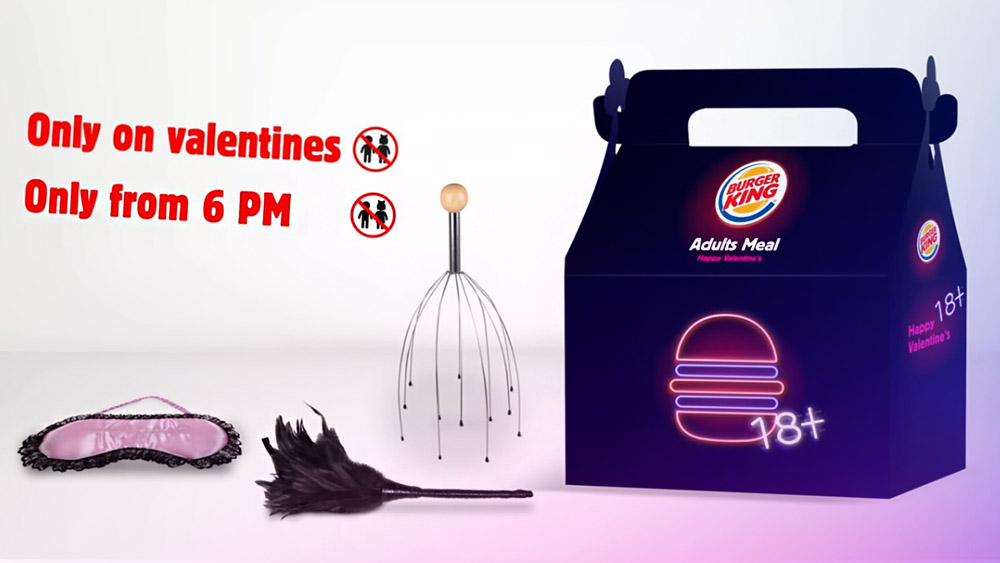 burger king adults meal video