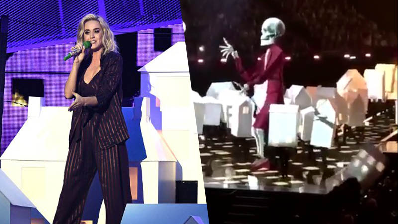 katy perry houses brit awards