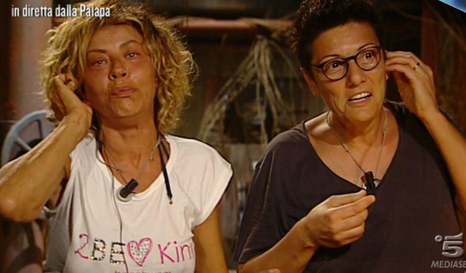Eva Grimaldi ed Imma Battaglia