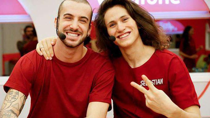 Andreas e Sebastian