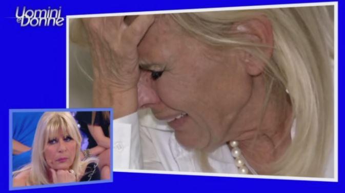 Gemma Galgani piange disperata a uomini e donne