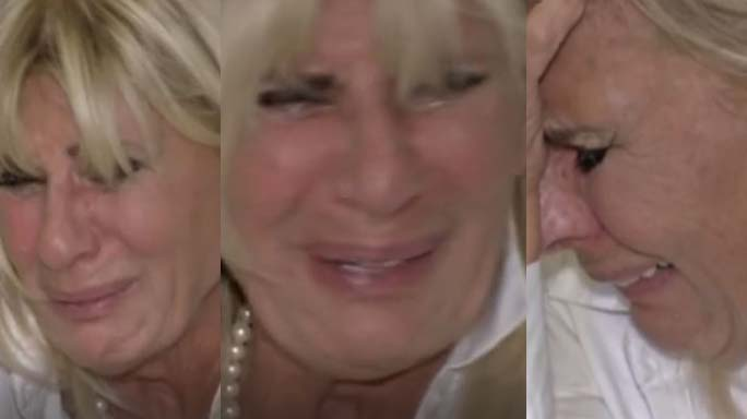 gemma galgani piange uomini e donne