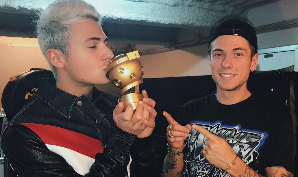 Benji e Fede MTV Italian Awards 2017