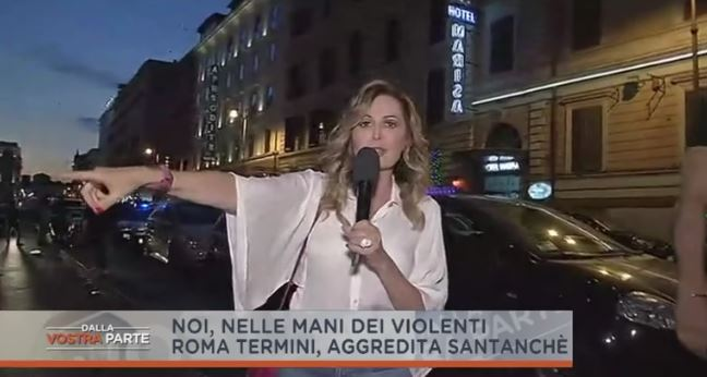 Daniela Santanché aggredita in strada