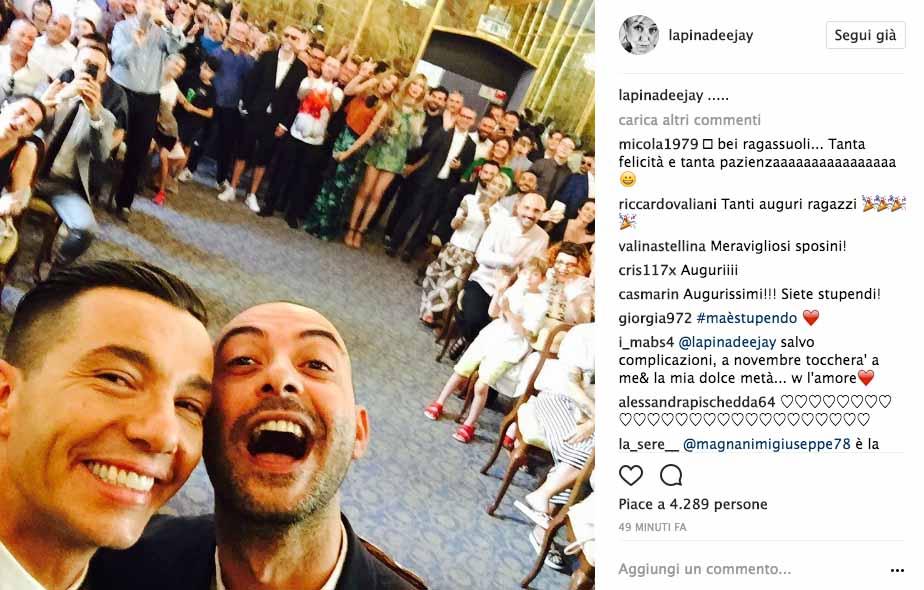 Diego Passoni e Pier Mario Simula si sono sposati 3