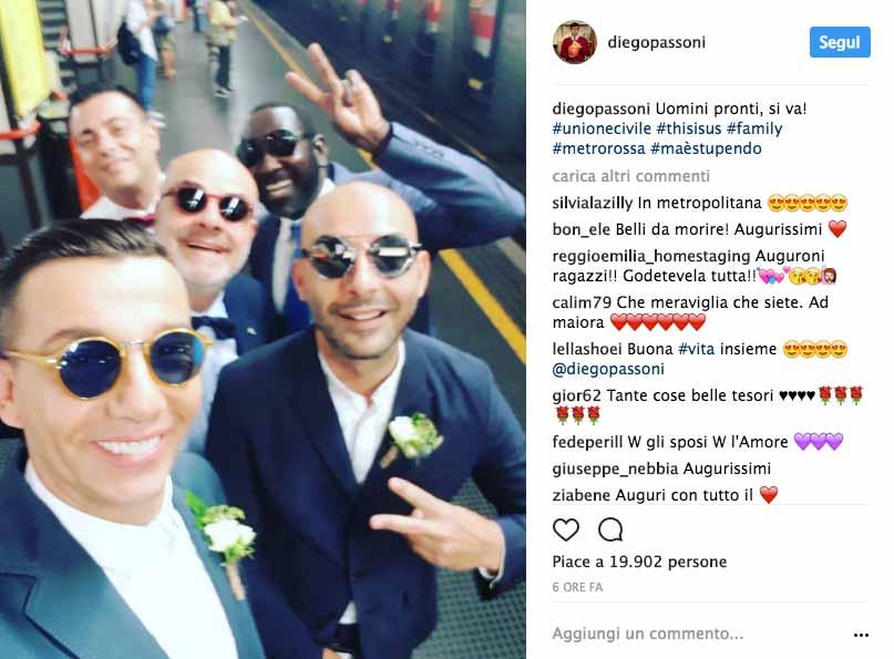 Diego Passoni e Pier Mario Simula si sono sposati 7