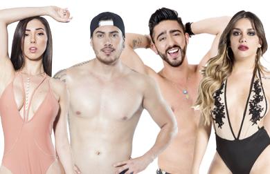 Danik, Victor, Karime e Potro MTV Super Shore
