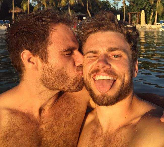 Gus Kenworthy and Matthew Wilkas 2