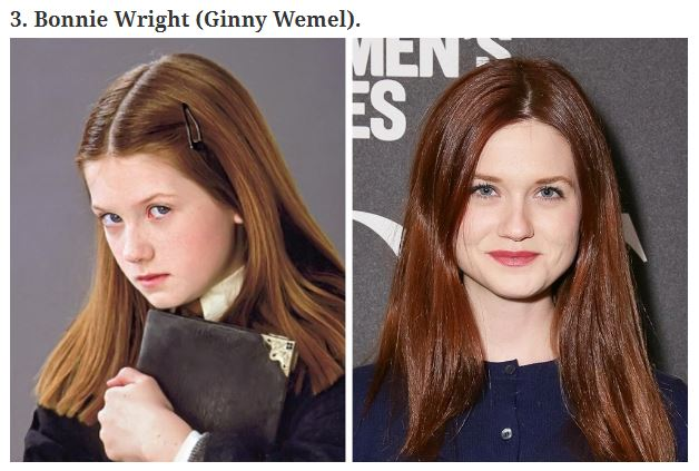 Harry Potter attori prima e dopo (1)