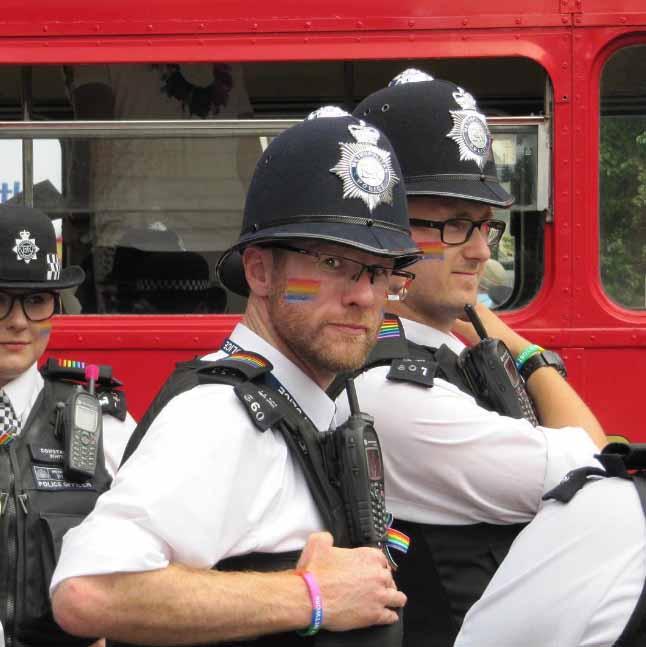 London Pride Police Rainbow 2