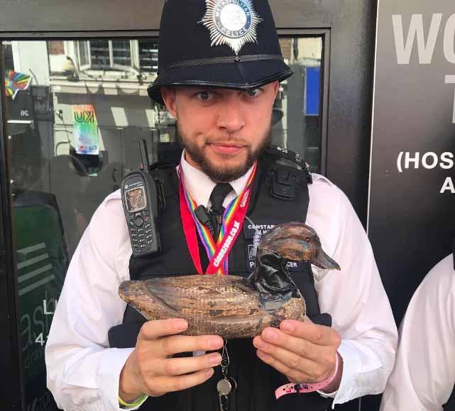 London Pride Police Rainbow 3