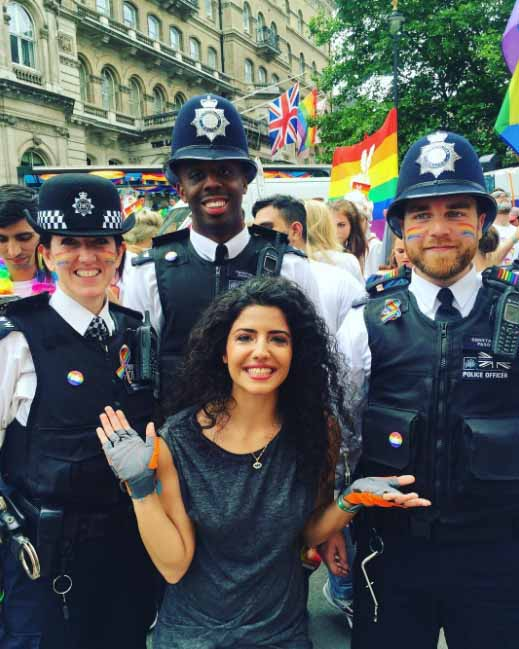London Pride Police Rainbow 4