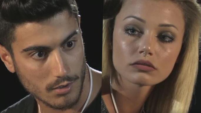 Riccardo e Camilla Temptation Island Falò