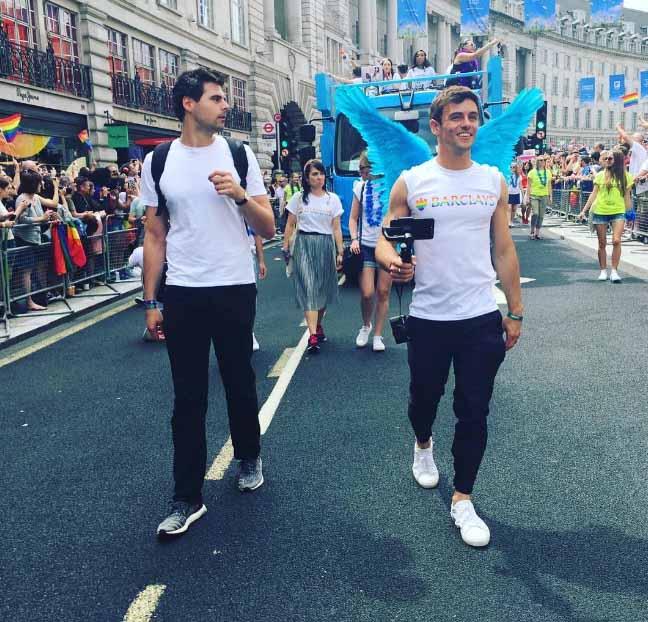 Tom Daley Gay Pride 2