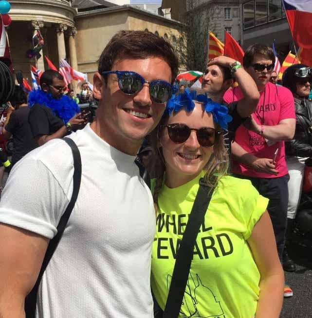 Tom Daley Gay Pride Londra