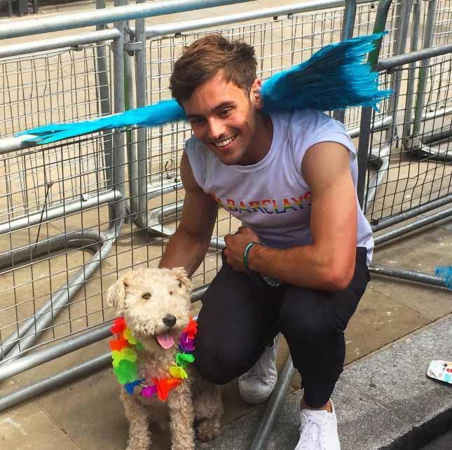 Tom Daley e Gay Pride