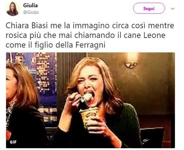 Chiara Ferragni, Chiara Biasi, Leone (3)