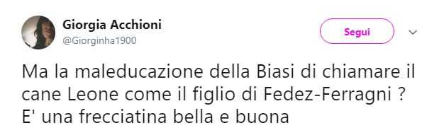 Chiara Ferragni, Chiara Biasi, Leone (4)