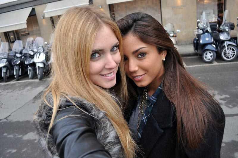 Chiara Ferragni e Chiara Nasti