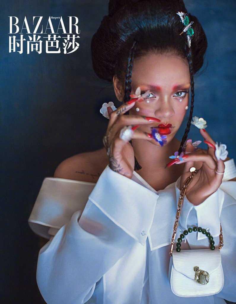Rihanna Harper Bazaar China Cultural Appropriation 2