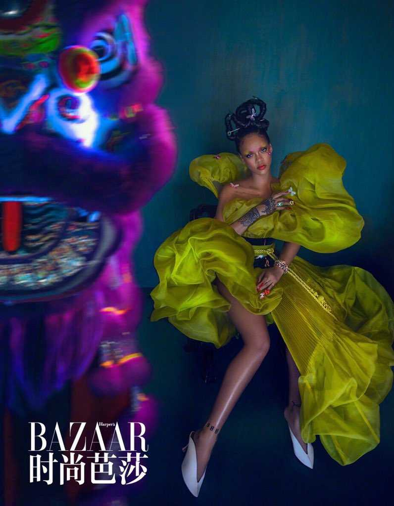 Rihanna Harper Bazaar China Cultural Appropriation 4