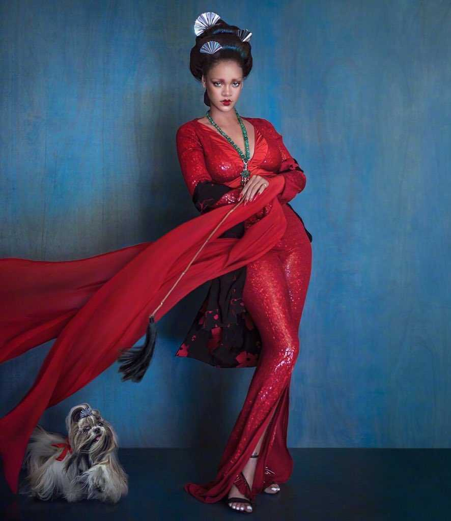 Rihanna Harper Bazaar China Cultural Appropriation