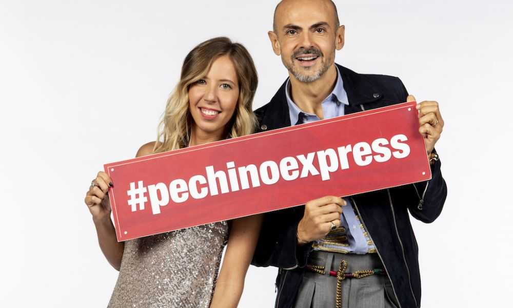 Pechino Express Cast Enzo Miccio Carolina Gianuzzi
