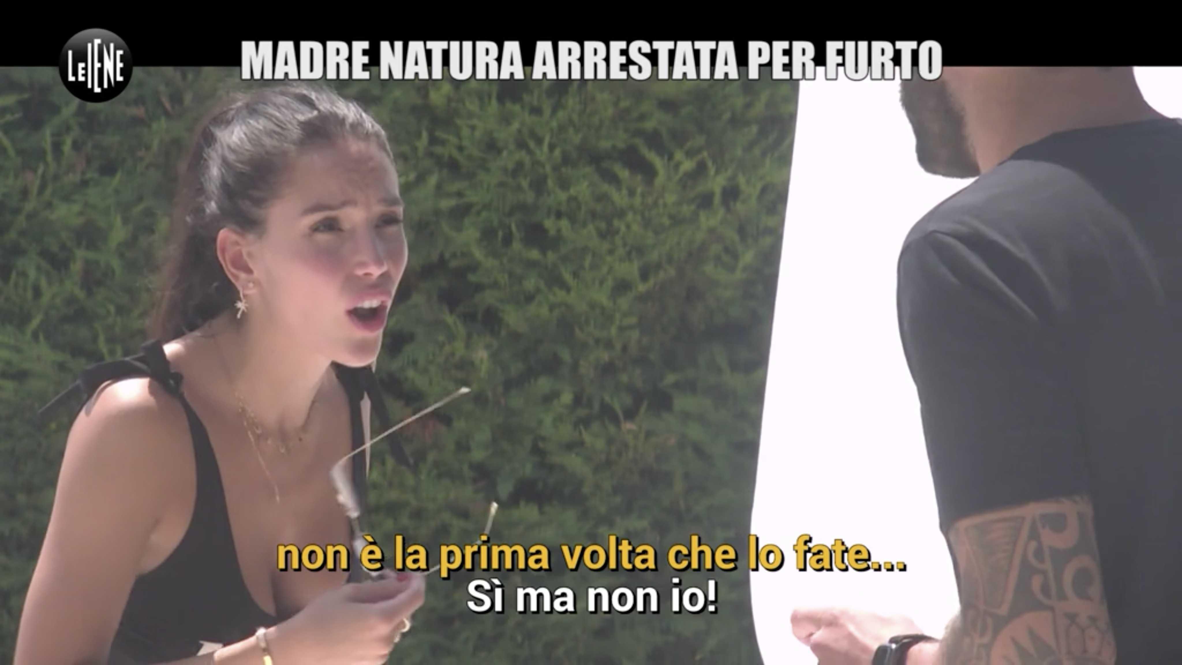 Paola Di Benedetto Scherzo Iene