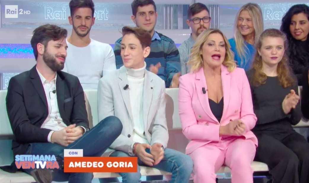 Mario Tricca Simona Ventura